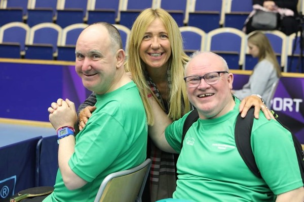 SERVICE USER ACHIEVEMENTS: Gary wins bronze medal for Ireland!