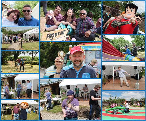 SERVICE USER ACHIEVEMENTS: Taliesin Awards and Fun Day