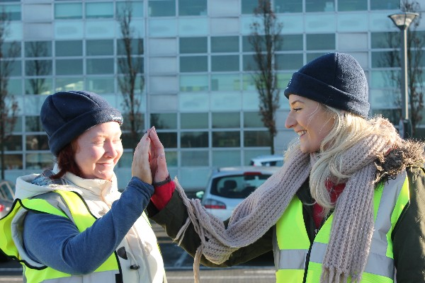 SERVICE USER ACHIEVEMENTS: Operation Transformation Walk