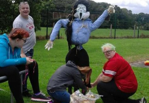 Stephanie enters All-Ireland Scarecrow Competition