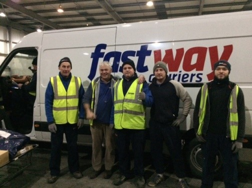 SERVICE USER ACHIEVEMENTS: Eddie Excels in Fastway Couriers