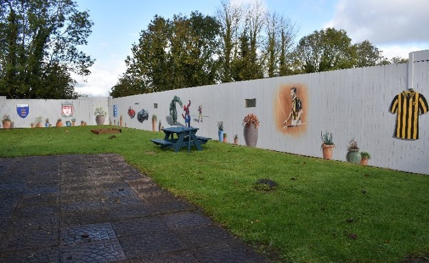 SERVICE ACHIEVEMENTS: The Willows Launch New Creative Wall Project