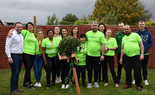 SERVICE ACHIEVEMENTS: Staff at Nua Healthcare celebrate World Mental Health Day 2019