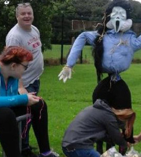 SERVICE USER ACHIEVEMENTS: Stephanie enters All-Ireland Scarecrow Competition