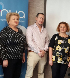 SERVICE ACHIEVEMENTS: Moldovan Government Delegates Visit Nua Healthcare