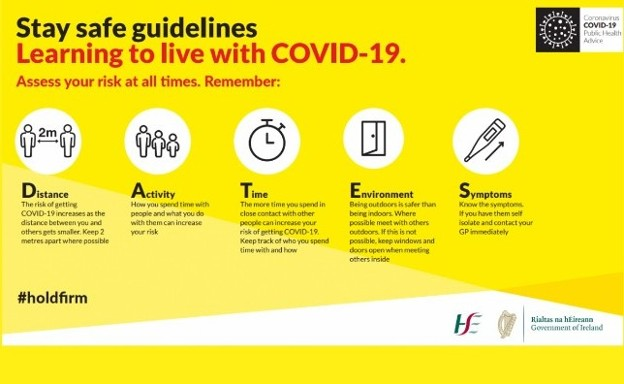 ANNOUNCEMENTS: Learning how to live through COVID-19